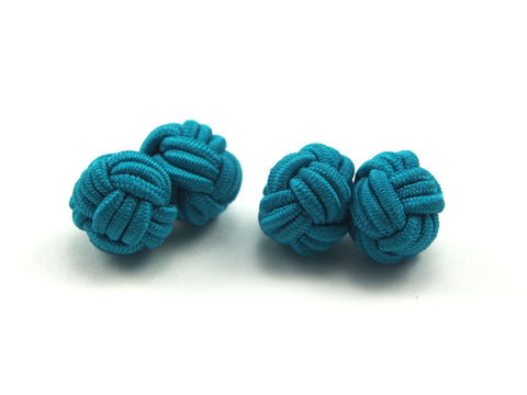 Silk Knots: Turquoise