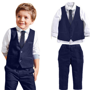 Gentlemen Wedding Suit (4 Pieces)