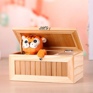 Mysterious Box with Cute Tiger