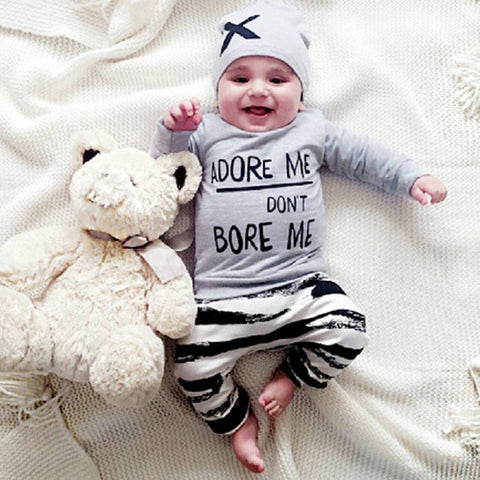 Adorable Baby Set Long Sleeve