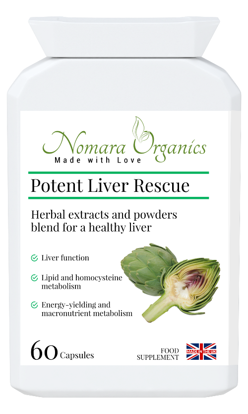 Potent Liver Rescue .Supports liver functions- cleansing, immunity, energy reserve and release & key body metabolic functions.