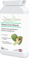 Load image into Gallery viewer, Potent Liver Rescue .Supports liver functions- cleansing, immunity, energy reserve and release & key body metabolic functions.