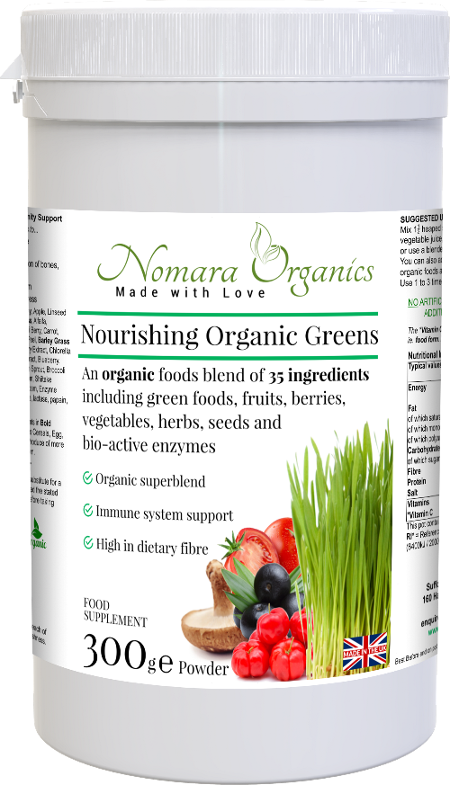Nourishing Organic Greens