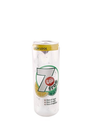 7 Up Diet Can (25 cl) Six-pack