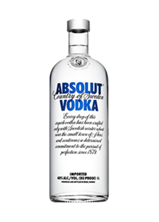 Absolut Vodka Blue (1L)