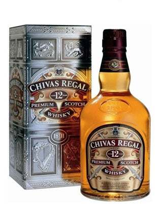 Chivas Regal 12YO Scotch Whisky (1L)