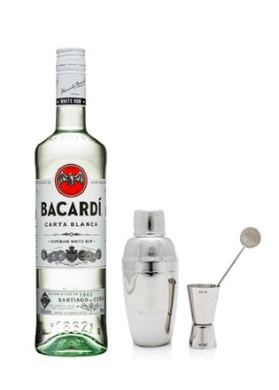 Bacardi White Cocktail Kit Package