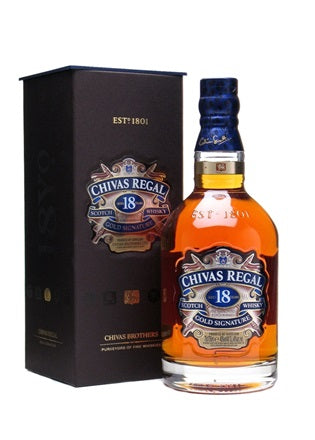 Chivas Regal 18YO Scotch Whisky (1L)