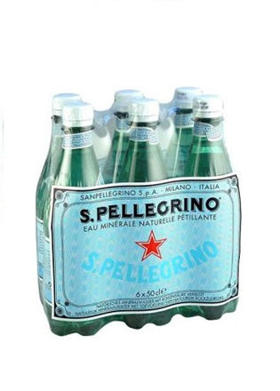San Pellegrino - Natural Sparkling Mineral Water (6x500ml)
