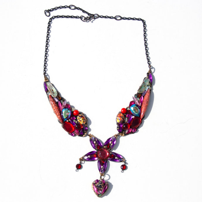 Large Special Necklace - Red