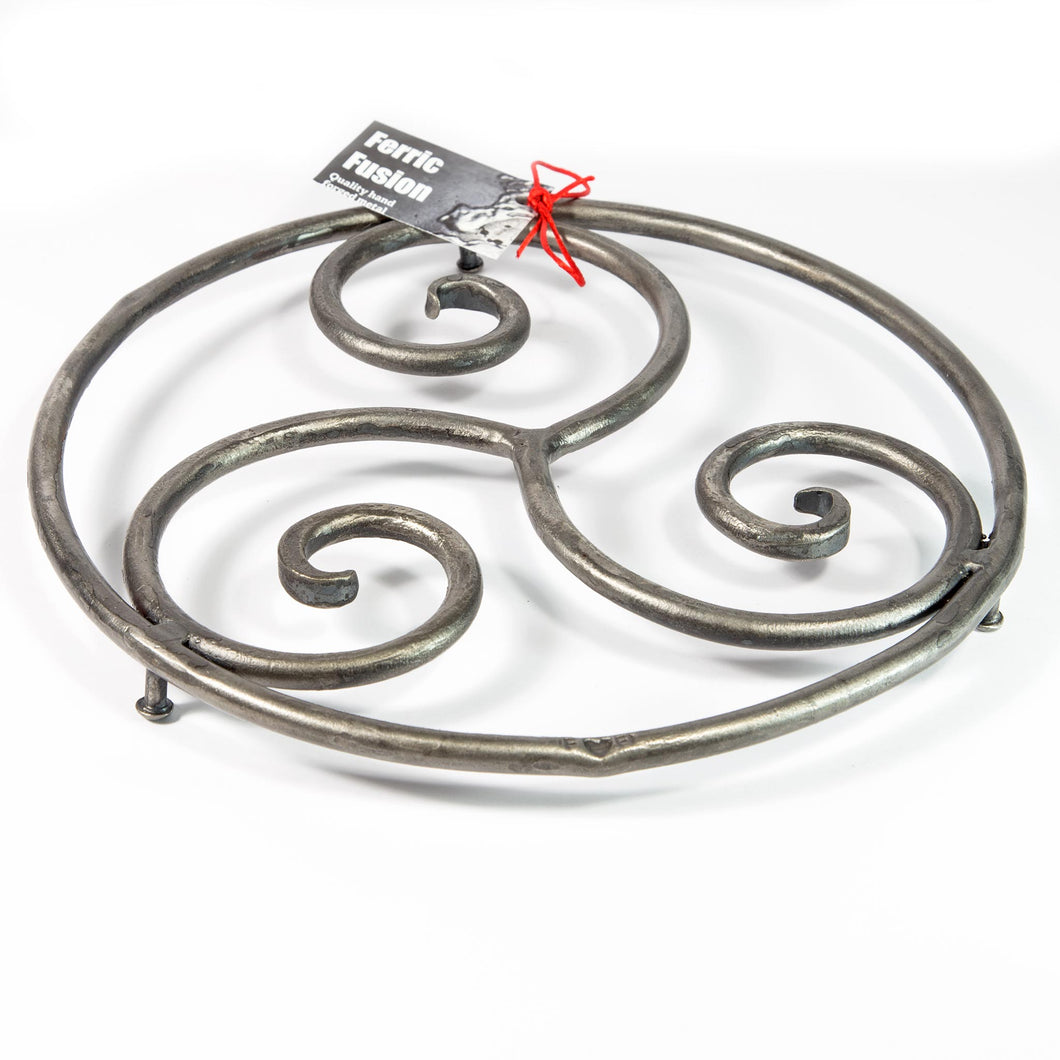 Wrought Iron Spiral Trivet - Large