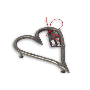Wrought Iron Heart Trivet - Small. OUT OF STOCK