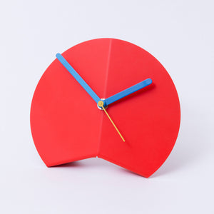 Red & Blue Origami Desk Clock
