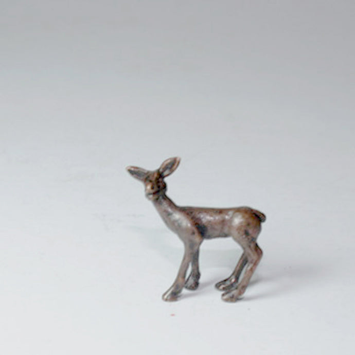 Bonsia Bronze Deer by Dave Meredith