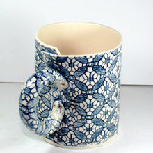 Cafe Blue and White Mug by Vanessa Conyers Ceramics