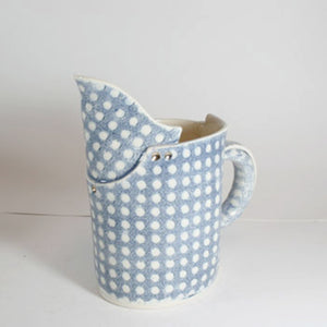 Cafe Small Blue and White Jug
