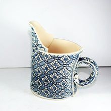 Cafe Small Blue and White Jug by Vanessa Conyers Ceramics