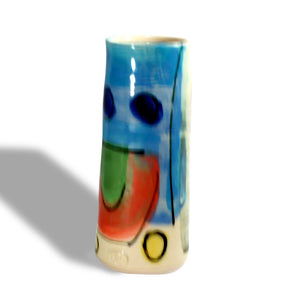 Ceramic Small Bud Vase Vibrant