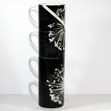 Ceramic Stacking Mugs x4 by Gillian Arnold Design Ltd