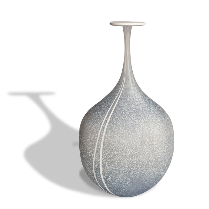 Glass Granite Medium Flat Flask by Martin Andrews