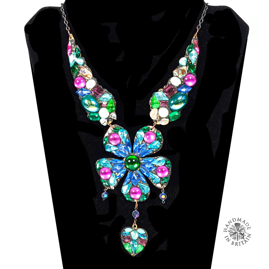 Large Daisy Statement Necklace by Annie Sherburne
