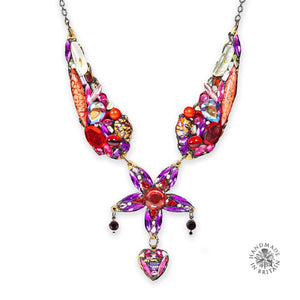 Large Special Necklace - Red by Annie Sherburne