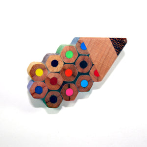 Recycled Pencil Badge