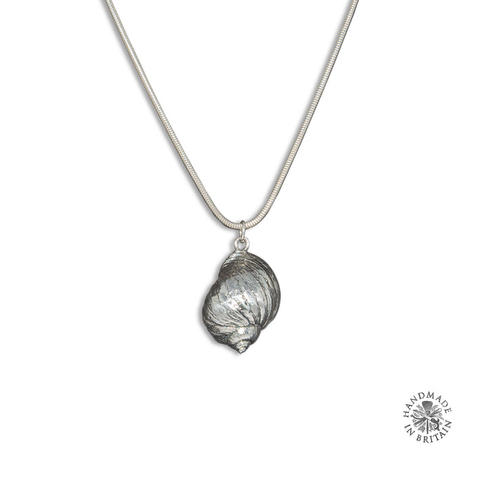 Silvered Winkle - Pendant only
