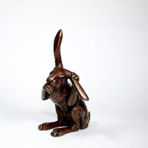Small Bronze Hares by Dave Meredith