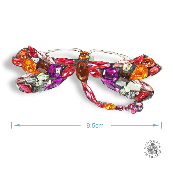 Spangly Large Brooch Butterfly by Annie Sherburne