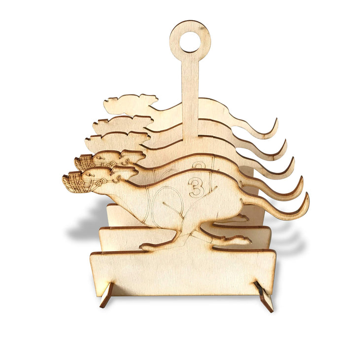 Wooden Flat Packed Greyhound Toast Rack