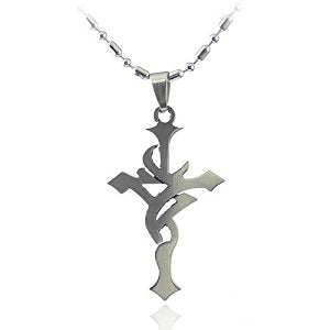 Vintage Hollow Cross Necklace