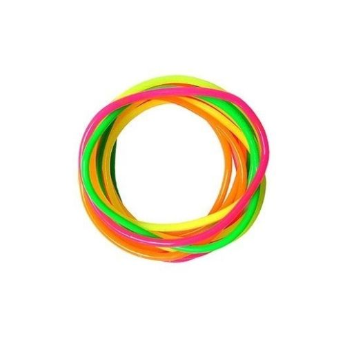 11 Multicoloured Gummy Bracelets