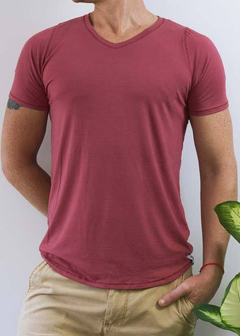 The V-Neck Tee - Bamboo T Shirt
