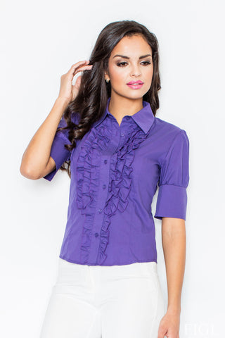 Dark Purple Figl Shirts