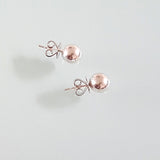 Sterling Silver 6 mm Ball Stud Earrings
