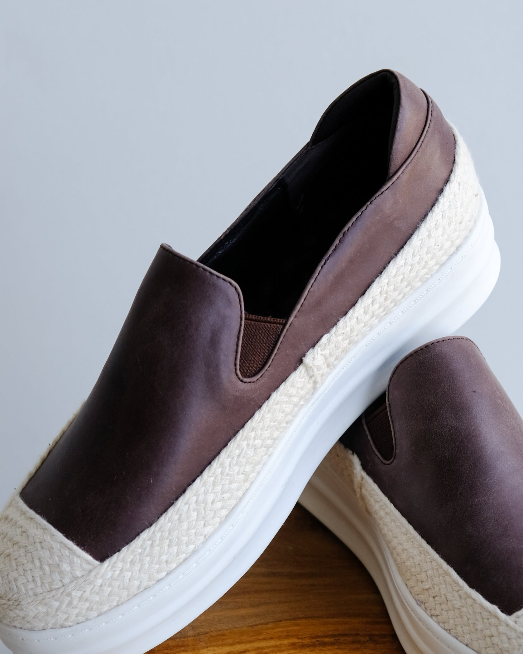 Espadrilles in Chocolate