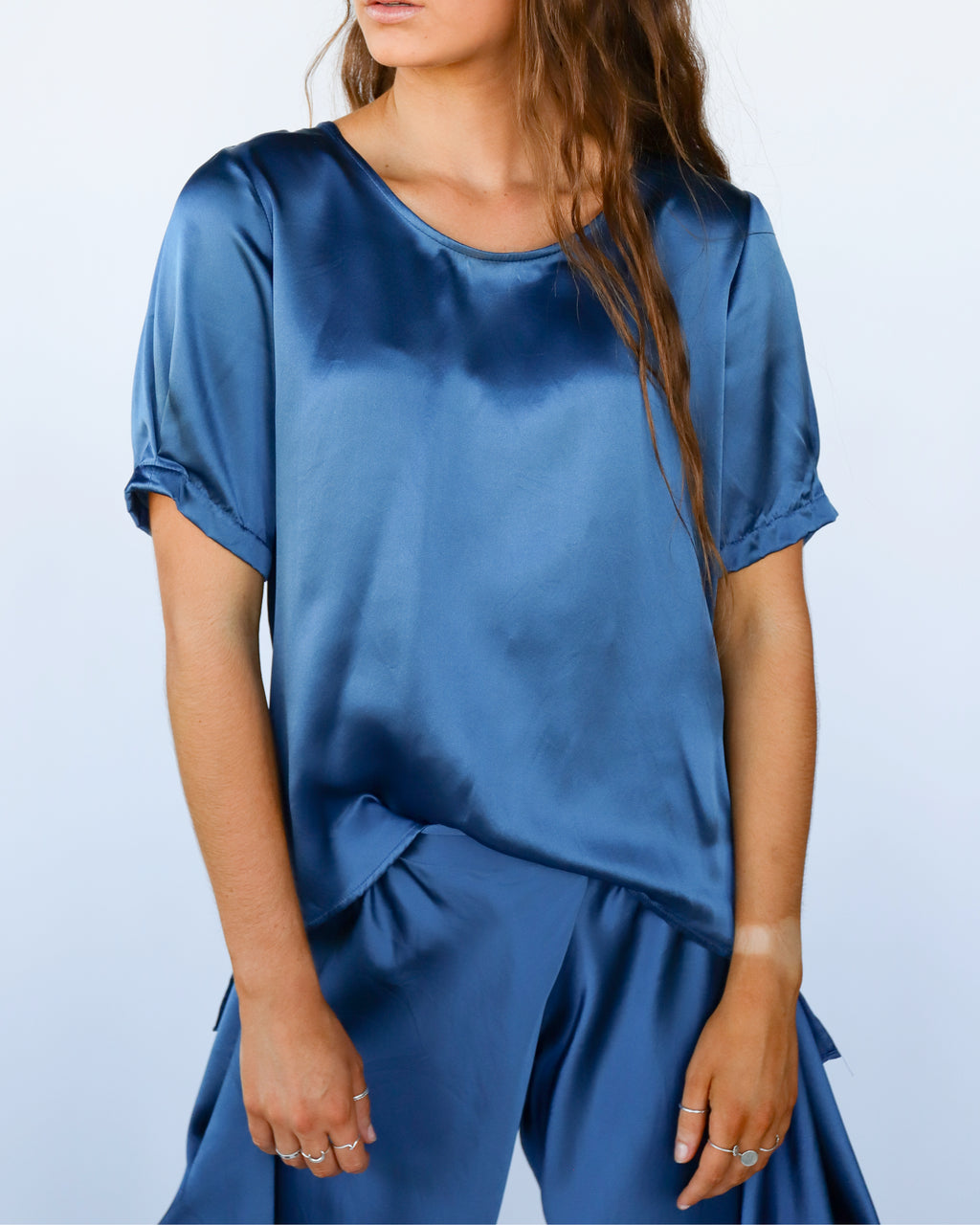 Loni Silk Top