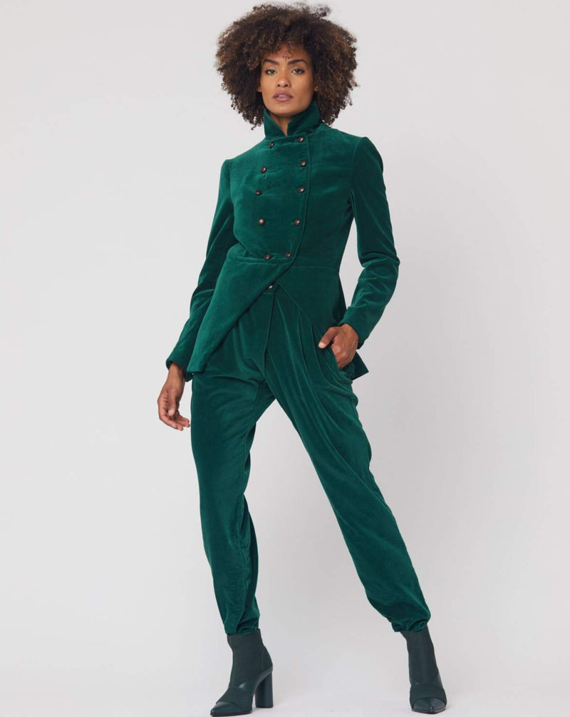 Hilde Jacket in Bottle Green