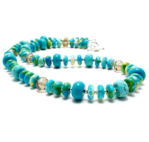 Swimming Pool Necklace 18''