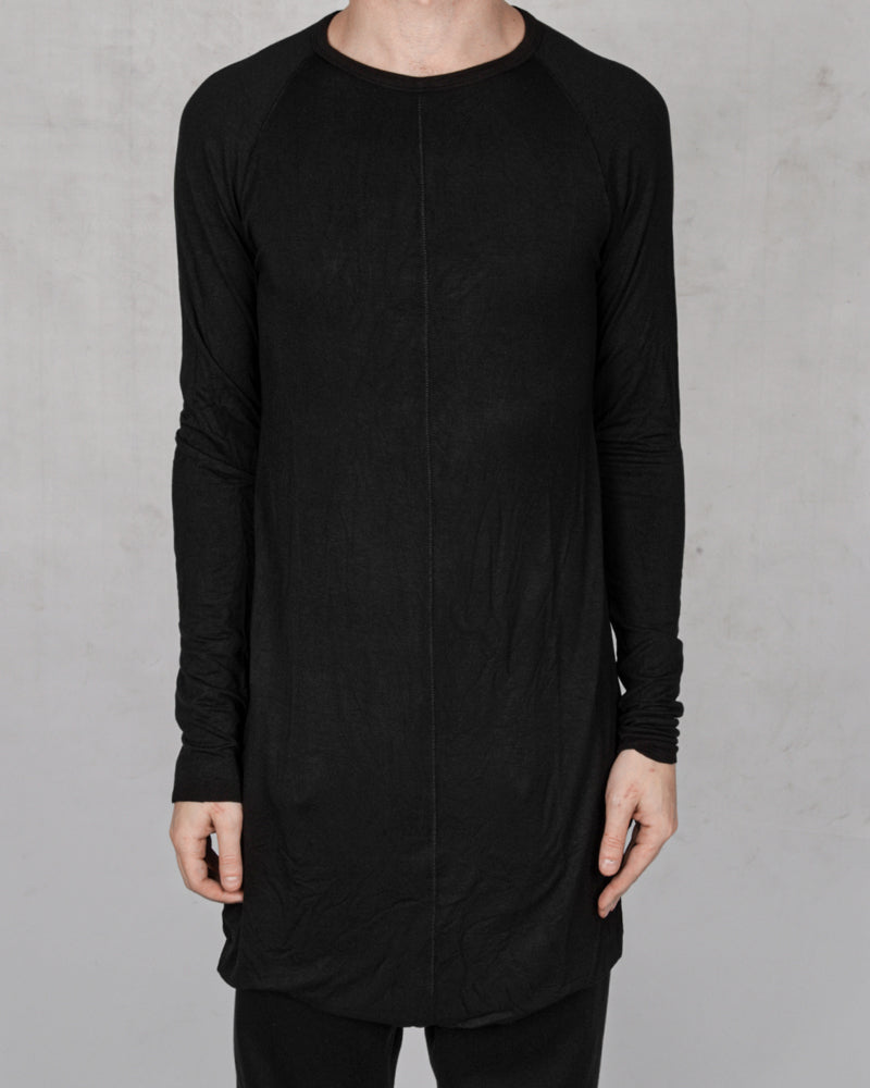 10R:son - T1005 - Long sleeve tshirt black - Stilett.com