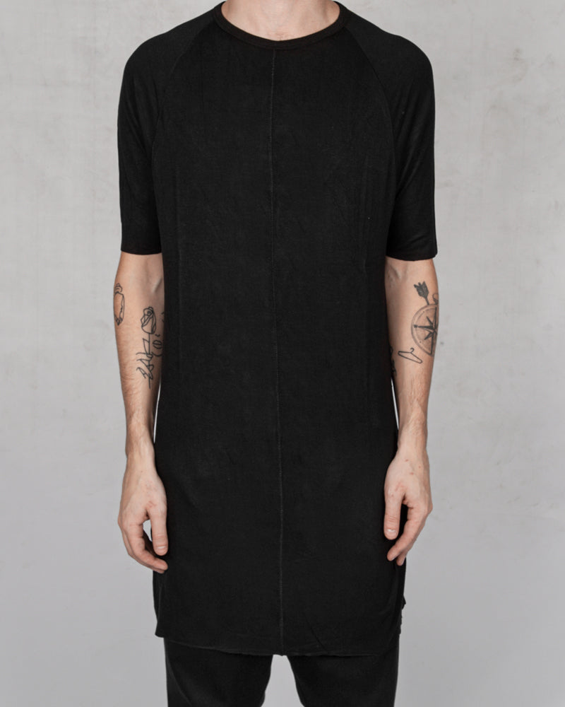 10R:son - T1002 - Long tshirt black - Stilett.com