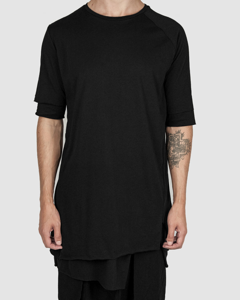 Army of me - Double layered cotton tshirt black - Stilett