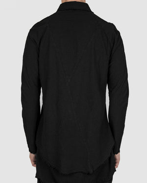 Army of me - Raglan cotton shirt black - https://stilett.com/