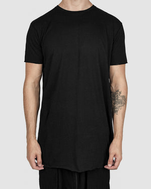 Army of me - Scar stitch detail cotton tshirt black - https://stilett.com/