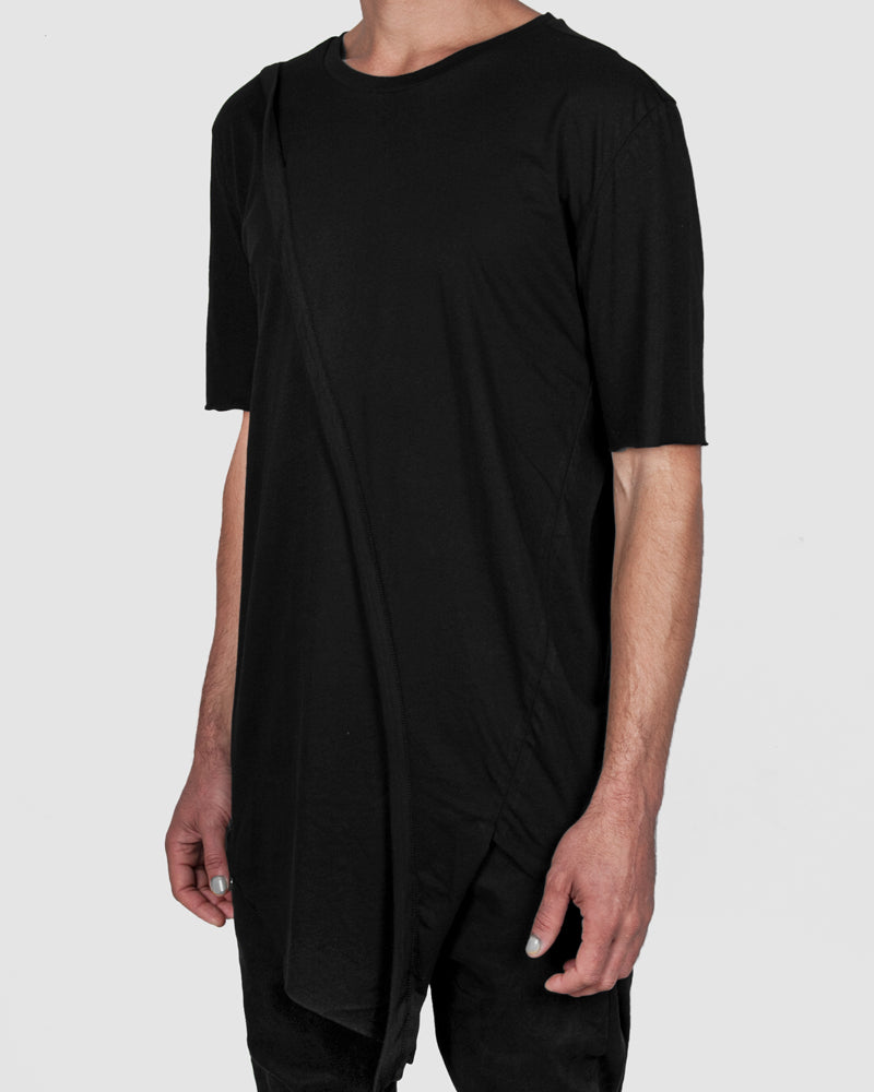 Army of me - Banded asymmetric tshirt - Stilett.com