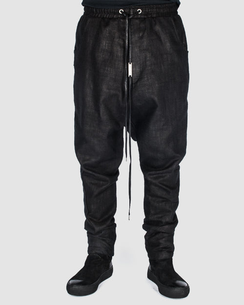 Army of me - Coated cotton trouser - Stilett.com