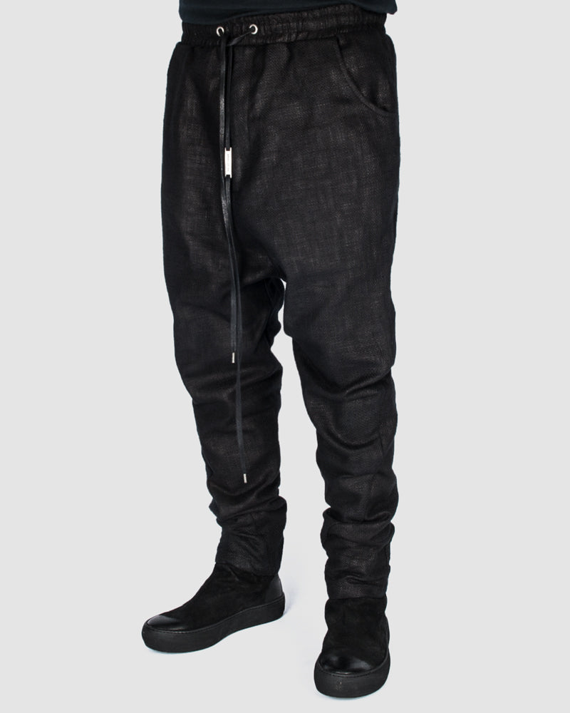 Army of me - Coated cotton trouser - Stilett
