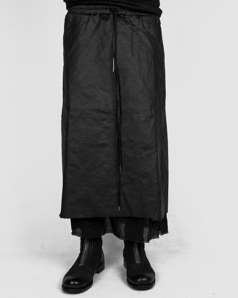 Army of me - Coated layered denim skirt - https://stilett.com/