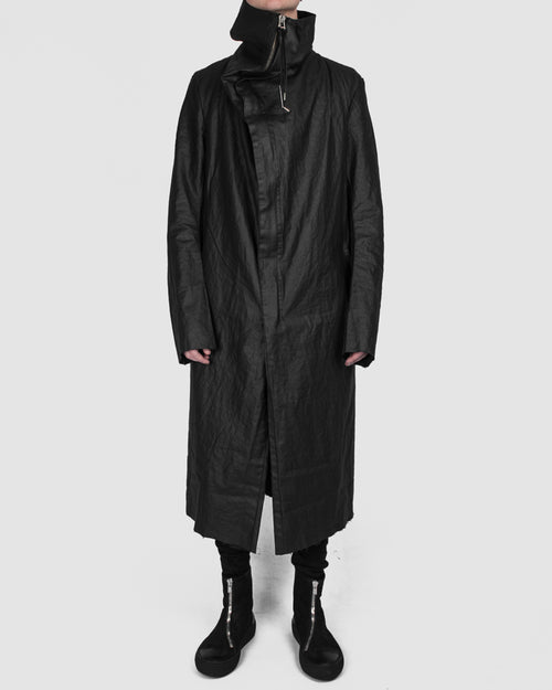 Army of me - Coated linen coat - Stilett